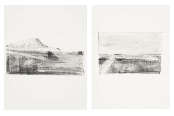 'Landscape for sale', Pencil on Paper, 2012