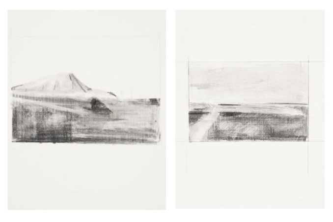 'Landscape for sale', Pencil on Paper, 2012